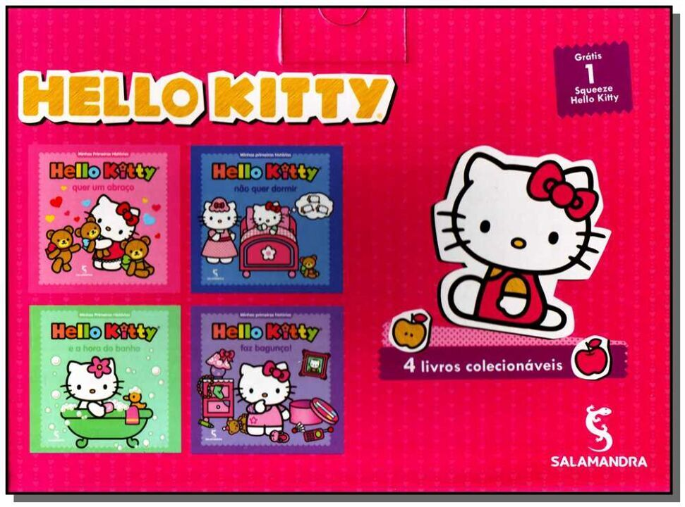 Hello Kitty - Box Com Garrafinha thumbnail