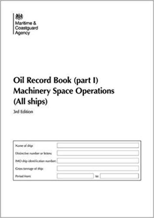 Oil Record Book (Part i) Machinery Space Operation thumbnail