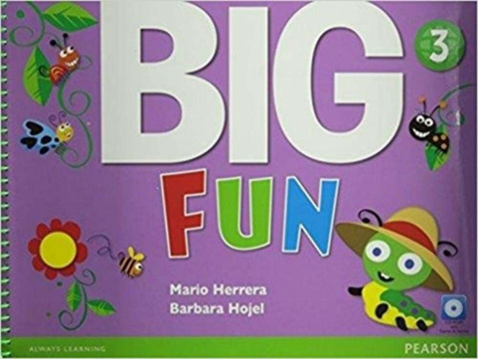 Big Fun 3 Student Book With Cd-Rom thumbnail