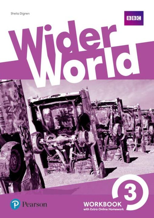 Wider World 03 - Workbook With Extra Online Homework thumbnail