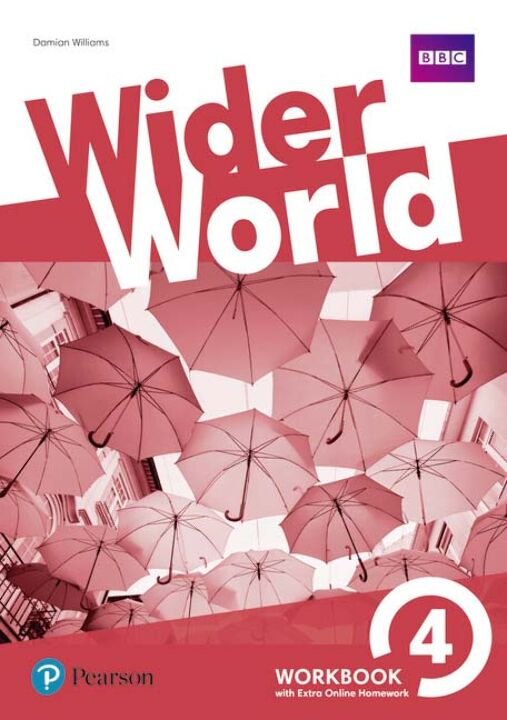 Wider World 04 - Workbook With Extra Online Homework thumbnail
