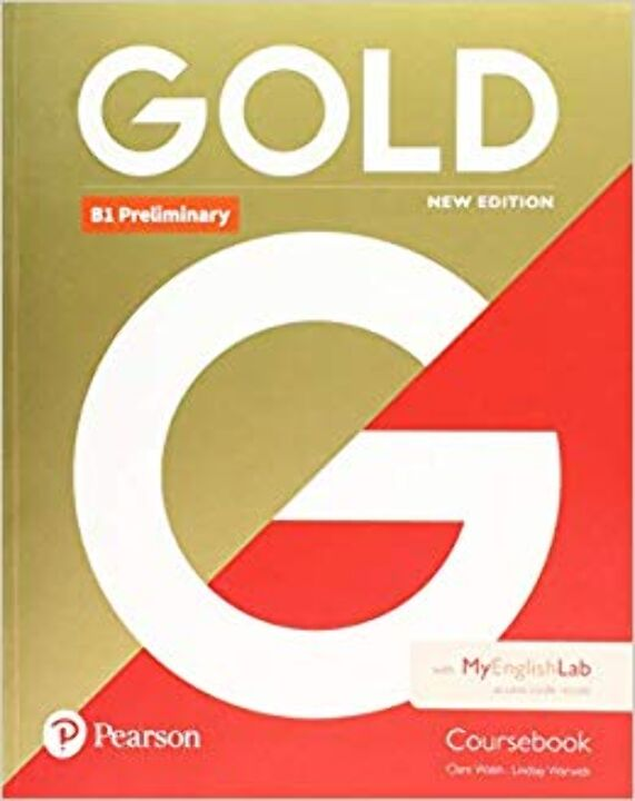Gold B1 Preliminary New Edition Coursebook With My thumbnail