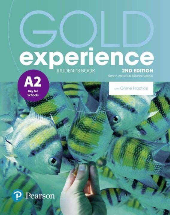 Gold Experience A2 Key For Schools Students With o thumbnail
