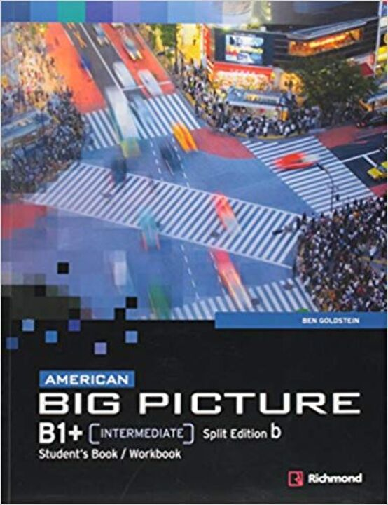 American Big Picture B1+ Split B 1A Ed thumbnail