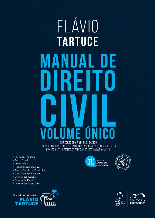 Manual de Direito Civil - Volume Unico - 11Ed/21 thumbnail