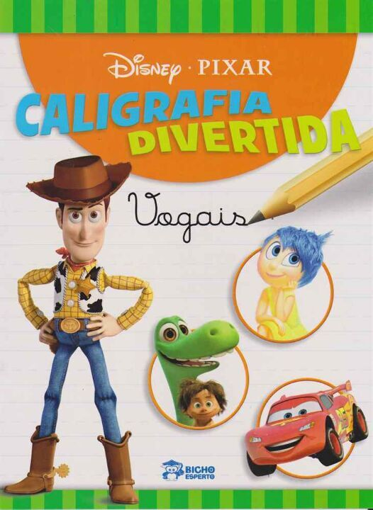 Disney - Caligrafia Divertida - Vogais thumbnail