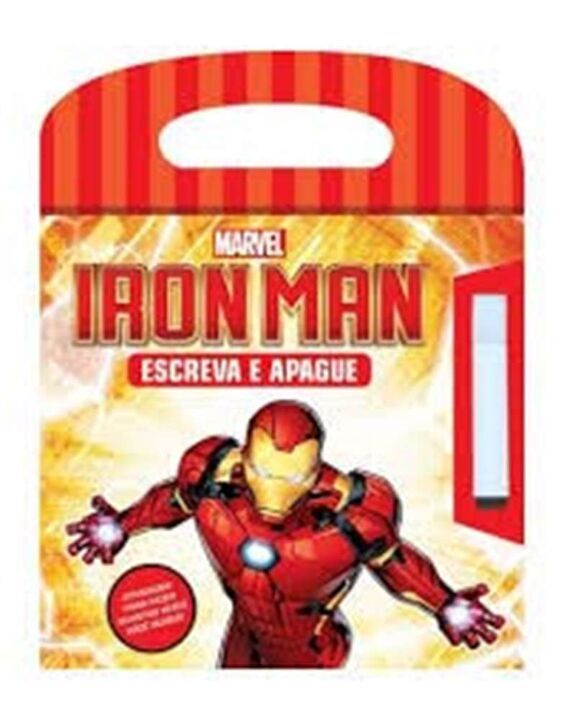 Marvel Iron Man - Escreva e Apague thumbnail