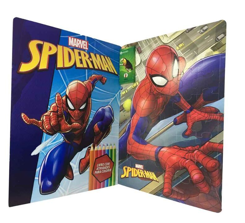 Marvel Kit Diversao - Spider-Man thumbnail