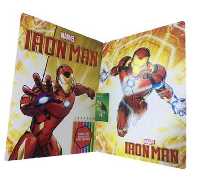 Marvel Kit Diversão - Iron Man thumbnail