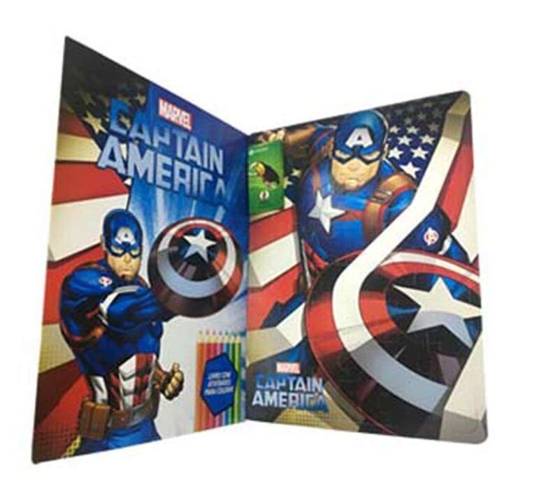 Marvel Kit Diversão - Captain America thumbnail