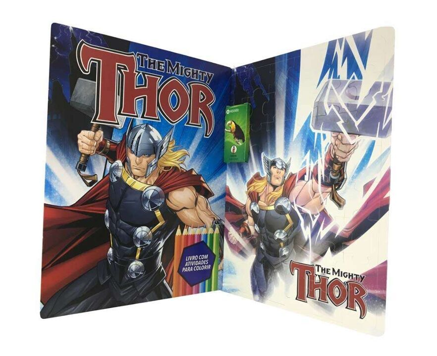 Marvel Kit Diversão - The Mighty - Thor thumbnail