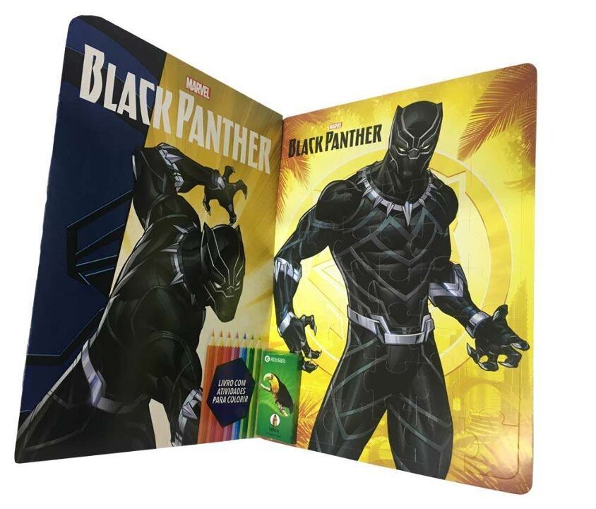 Marvel Kit Diversão - Black Panther thumbnail