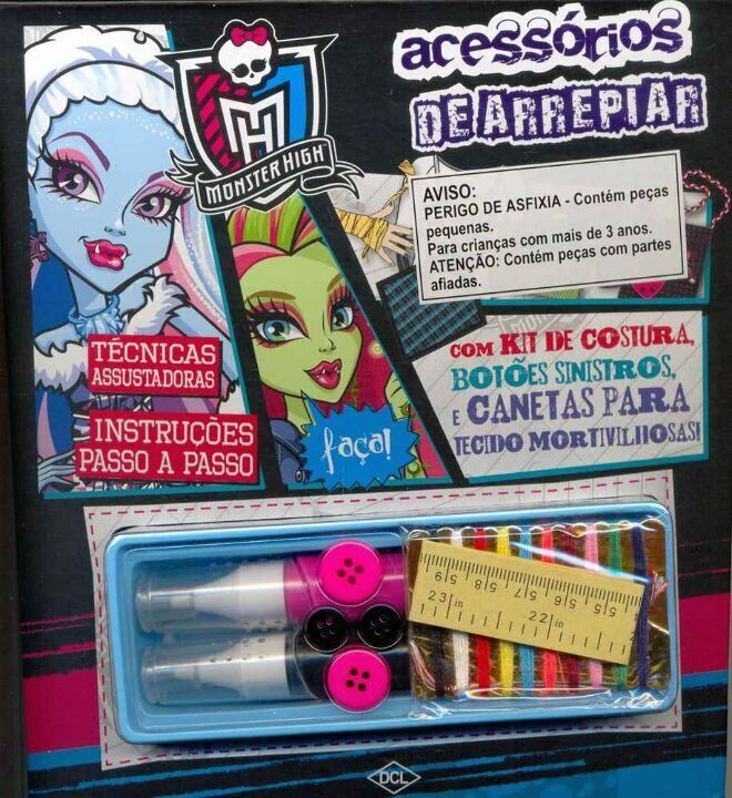 Mattel - Monster High - Acessorios de Arrepiar thumbnail