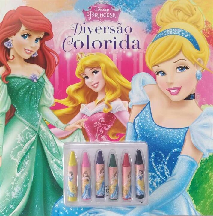 Disney - Diversão Colorida - Princesas thumbnail