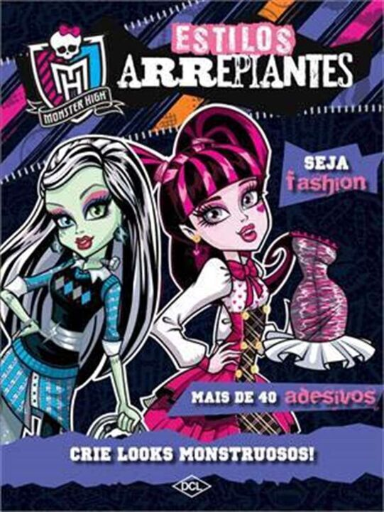 Mattel - Monster High - Estilos Arrepiantes thumbnail