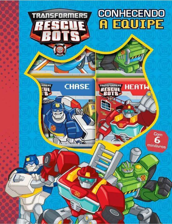 Transformers Rescue Bots - Conhecendo a Equipe thumbnail