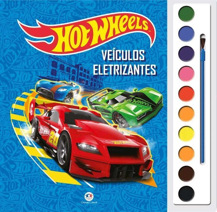 Aquarela - Hot Wheels - Veículos Eletrizantes thumbnail