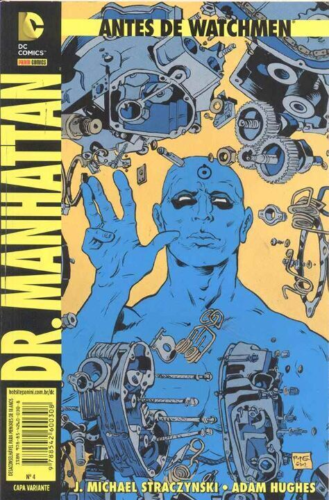 Antes de Watchmen 04 - Dr. Manhattan thumbnail