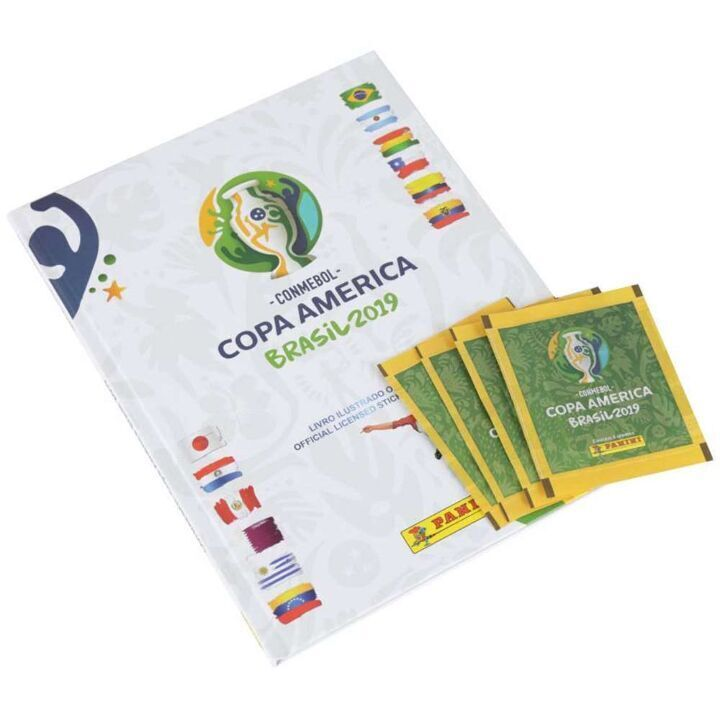 Álbum Copa América 2019 + 12 Envelopes thumbnail