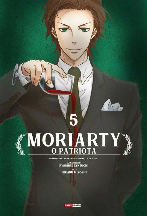 Moriarty o Patriota - Vol. 05 thumbnail