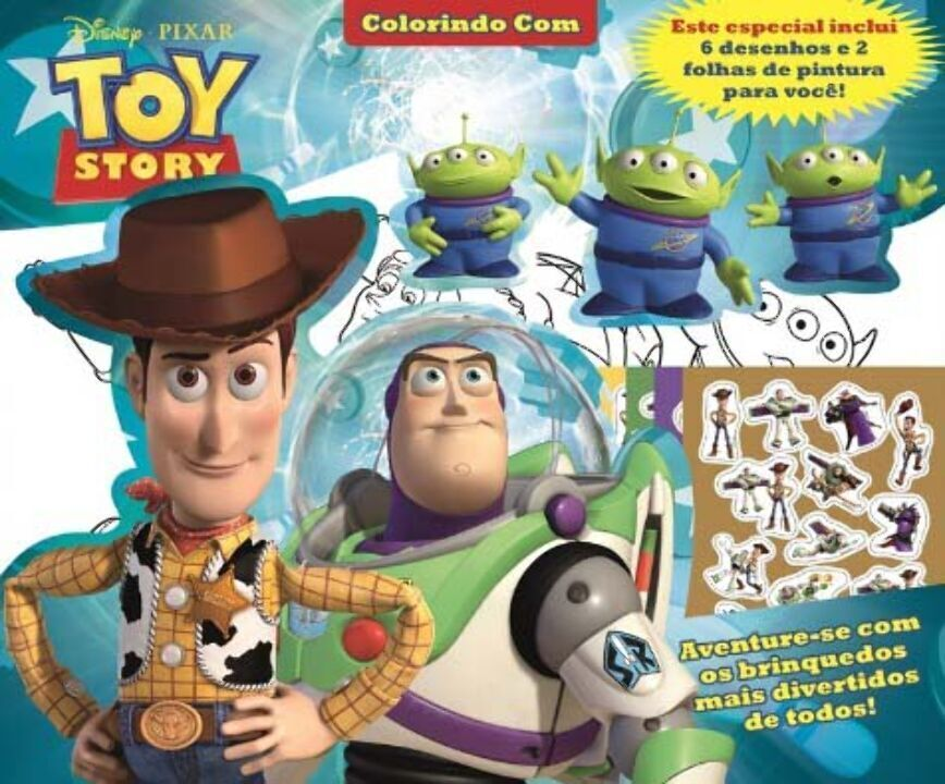 Disney - Colorindo Com - Toy Story thumbnail