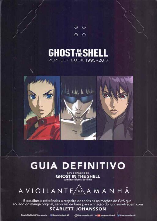 Ghost In The Shell - Perfect Book 1995-2017 thumbnail