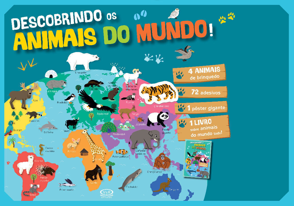 Descobrindo Os Animais Do Mundo! thumbnail