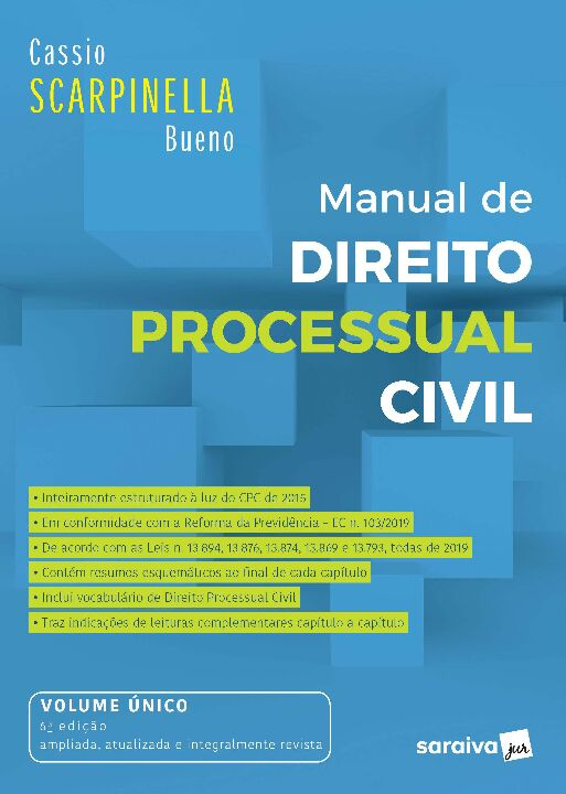 Manual de Direito Processual Civil - 6ª Ed. 2020 thumbnail