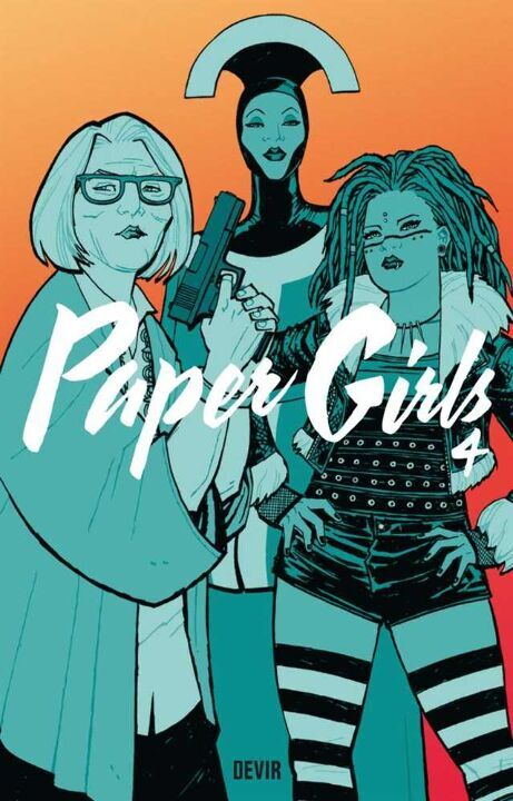 Paper Girls - Vol. 4 thumbnail
