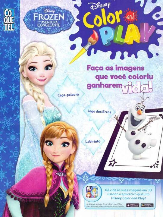 Disney Color And Play Frozen thumbnail