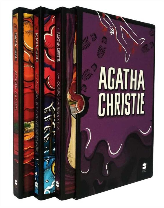 Col. Agatha Christie - Box 1 - 3 Vol. (Roxo) thumbnail
